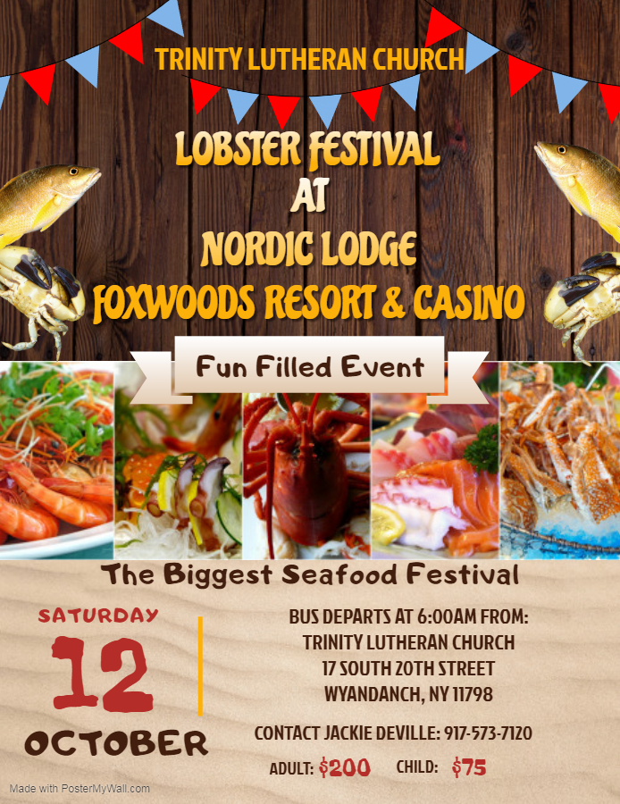 Enjoyable Lobster Festival At Nordic Lodge Trinity Evangelical Interior Design Ideas Clesiryabchikinfo